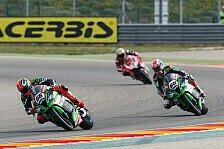 Superbike - Vorschau: Kawasaki in Aragon unter Ducati-Beschuss