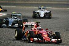 Formel 1 - Räikkönen profitiert von Allison