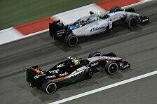 Formel 1 - Williams und Force India fühlen sich übergangen