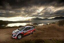 WRC - Licht und Schatten bei Hyundai in Argentinien