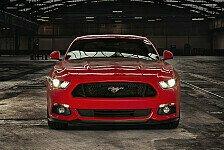Im Mustang auf dem Silverstone-Circuit