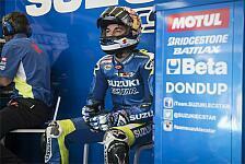 MotoGP - Q1-Aus in Jerez: Vinales wütend auf sich selbst