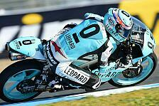 Moto3 - Klare Ansage in Jerez: WM-Leader Kent mit Trainingsbestzeit