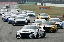 Motorsport - Noch immer kein Doppelsieger im Audi Sport TT Cup