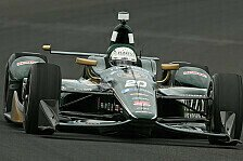 IndyCar - Video: Noch ein �berschlag: Ed Carpenter