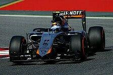 Formel 1 - Perez: Schnelle Kurven schaden unserer Rundenzeit