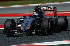 Formel 1 - Sergio Perez fühlt sich nicht wohl