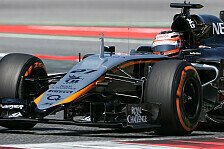 Formel 1 - Video: Martin Brundle nimmt Platz im Force India