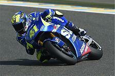MotoGP - Suzuki: Zwei Stürze am Freitag bereiten Probleme
