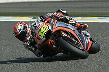 MotoGP - Aprilia-Backpfeife wegen schlechtem Grip