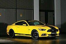 Auto - Ford Mustang GT Premium: Hengst mit 709 Pferden