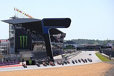 MotoGP - MotoGP-Crash bei Highspeed lauert in Le Mans: Zu gef�hrlich? Brennpunkt Turn 1 in Le Mans