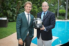 Formel 1 - Video: Interview mit Rosberg und F�rst Albert II.