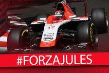 Formel 1 - Die Formel-1-Welt gedenkt Jules Bianchi