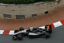Formel 1 - Platz sieben: Perez glänzt im Fürstentum