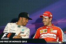 Formel 1 - Samstagsrennen: Hamilton dafür, Vettel dagegen