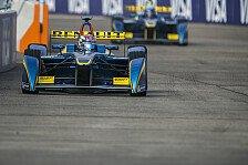 Formel E - 2. Testtag: Rundenrekord für Buemi