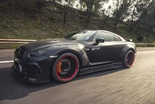 Auto - Widebody-Godzilla: Prior-Design zeigt den Nissan GT-R PD750 Widebody