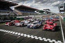 WEC - Testfahrten Le Mans