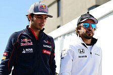 Formel 1 - Sainz: Samurai Alonso fährt 2016 für McLaren