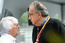 Formel 1 - Ferrari vs. Ecclestone: Marchionne schlägt zurück