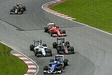 Formel 1 - Marchionne drängt auf Regeländerungen 2017