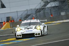 24 h von Le Mans - Video: Manthey-Porsche von Patrick Pilet in Flammen