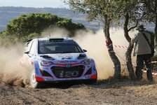 WRC - Geschichtsträchtiger Freitagmorgen auf Sardinien