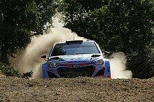WRC - Sordo mit Bestzeit im Sardinien-Shakedown