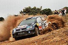 WRC - VW zwischen Himmel und Hölle: Ogier auf Siegkurs