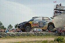 WRC - Drama um Paddon: Ogier geht in Führung