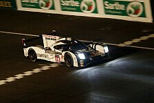 24 h von Le Mans - Hülkenberg-Porsche übernimmt Spitze in der Nacht
