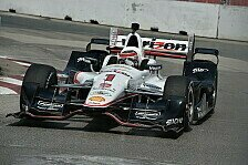IndyCar - Zweite Pole Position hintereinander: Toronto: Will Power sichert sich Pole