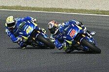 MotoGP - Suzuki: Tolle Pace auf gebrauchten Reifen