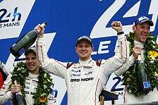 24 h Le Mans - Historischer Doppelsieg für den Porsche 919 Hybrid