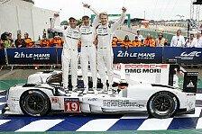 24 h von Le Mans - Bilder: 24 Stunden von Le Mans - So feiert Hülkenberg den Sieg