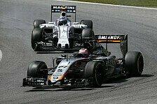 Formel 1 - Hülkenberg bringt Force India auf WM-Platz fünf