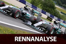 Formel 1 - Jubel in Silber, Frust in Rot: Analyse: Mercedes pokert richtig, Ferrari vergeigt
