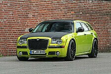 Auto - Retro-Look Exot: 300C in der SRT-Version foliert von HplusB-Design