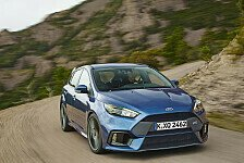 Auto - Serienmäßig 350 PS: Ford Focus RS in Goodwood