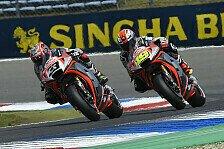 MotoGP - Null Punkte: Bauchlandung von Aprilia