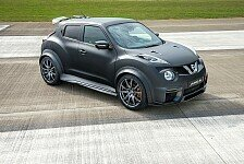 Auto - Fusion von Crossover und Supersportwagen : Nissan Juke-R 2.0 deb�tiert in Goodwood