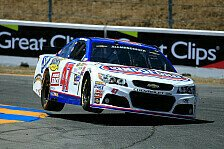 NASCAR - Road-Course-Action in Kalifornien: Allmendinger startet in Sonoma von der Pole