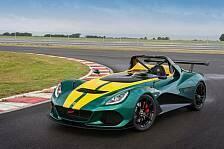 Auto - Lotus 3-Eleven: Schnellster seiner Art