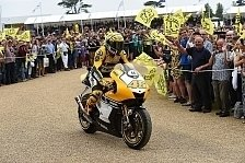 MotoGP - Bilder: Rossi in Goodwood