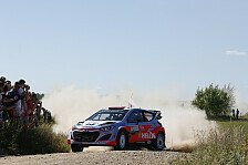 WRC - Video: Hyundai: Viele Tests im Polen-Shakedown