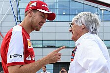 Formel 1 - Bernie talks