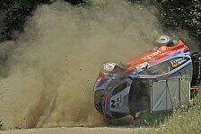 WRC - Heftiger Shakedown-Crash: Neuvilles Start wackelt