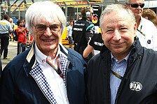 Formel 1 - Todt rügt Ecclestone nach F1-Kritik