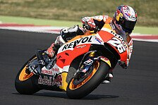 MotoGP - Repsol-Honda-Piloten testen 2016er-Prototyp